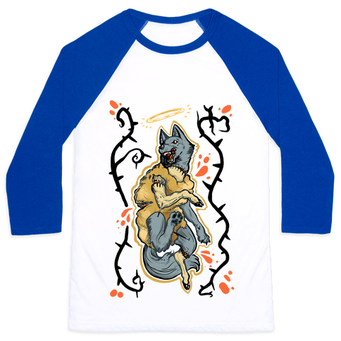 Wolf in Sheep's Clothing Baseball Tee