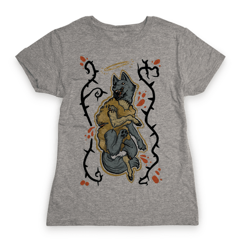 Wolf in Sheep's Clothing Womens T-Shirt