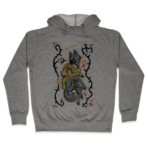 Wolf in Sheep's Clothing Hooded Sweatshirt