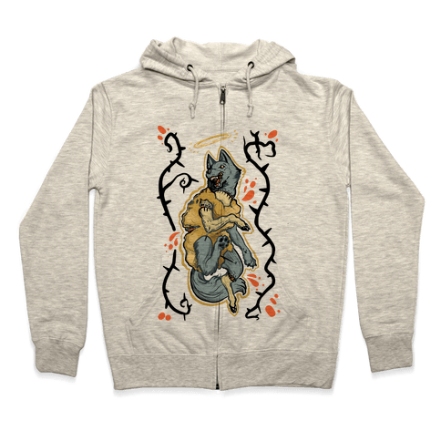 Wolf in Sheep's Clothing Zip Hoodie