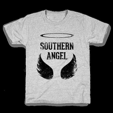 Southern Angel (Vintage) Kids T-Shirt