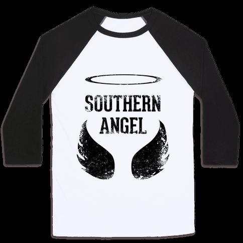 Southern Angel (Vintage) Baseball Tee