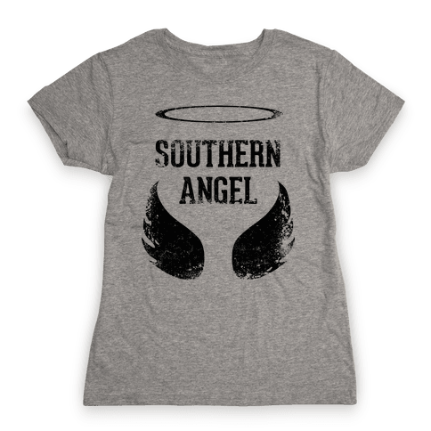 Southern Angel (Vintage) Womens T-Shirt