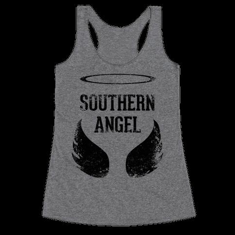 Southern Angel (Vintage) Racerback Tank Top
