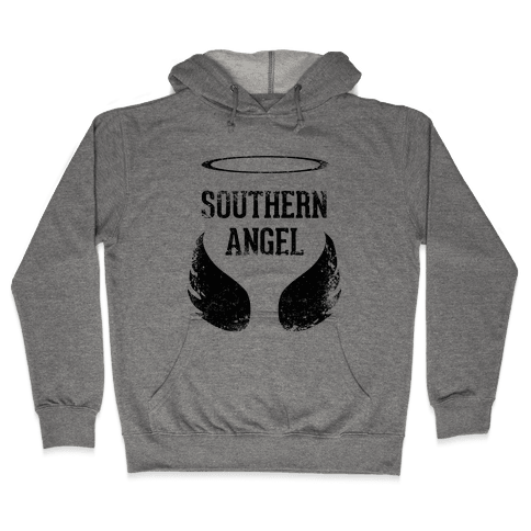 Southern Angel (Vintage) Hooded Sweatshirt