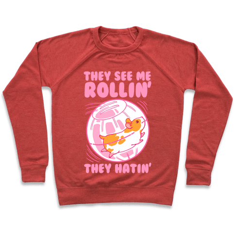 They See Me Rollin' They Hatin Pullover