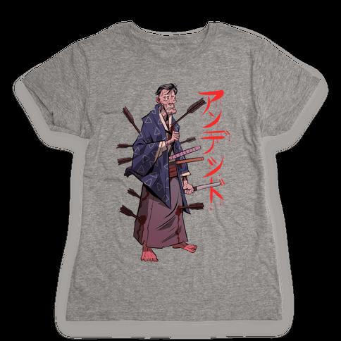 Undead Samurai Womens T-Shirt