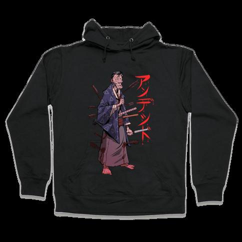 Undead Samurai Hooded Sweatshirt