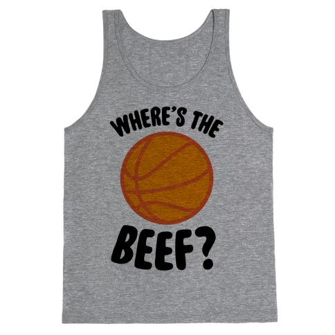 Where's The Beef? Tank Top