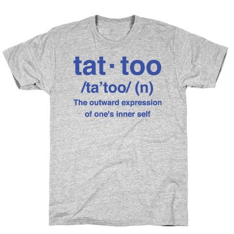 Tattoo Definition T-Shirt