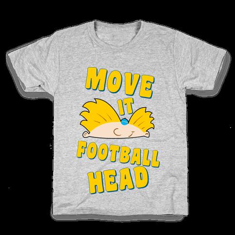 Move It Football Head! Kids T-Shirt