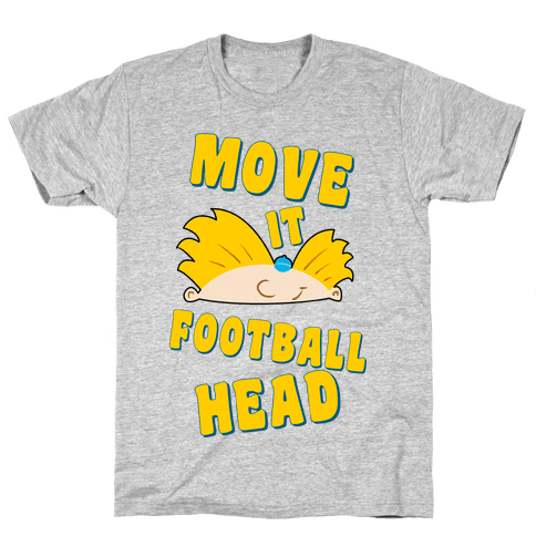 Move It Football Head! Mens T-Shirt