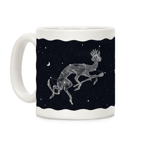 Deer God Stars Coffee Mug