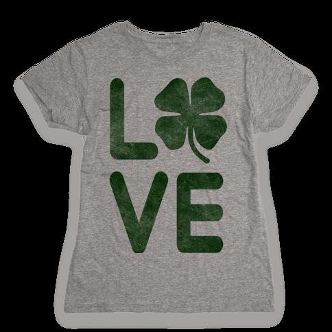 Irish Love Womens T-Shirt