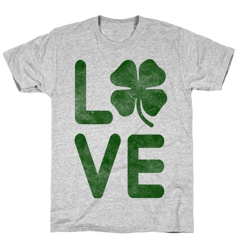 Irish Love Mens T-Shirt