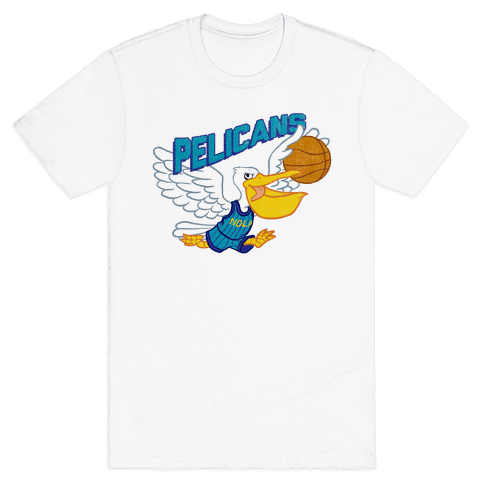 New Orleans Pelicans Mens T-Shirt