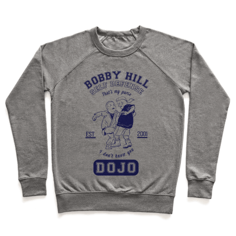 Bobby Hill Self Defense Dojo Pullover