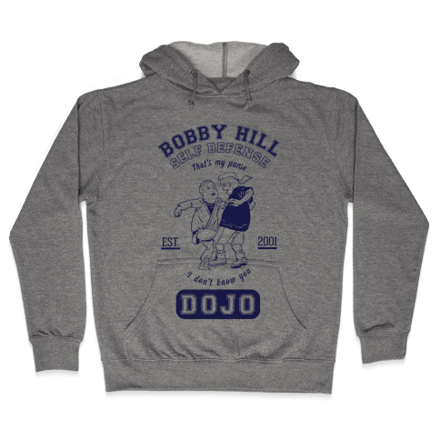 Bobby Hill Self Defense Dojo Hooded Sweatshirt