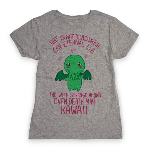 Kawaii Cthulhu Womens T-Shirt