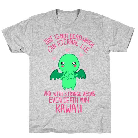 Kawaii Cthulhu Mens T-Shirt