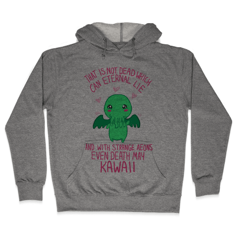 Kawaii Cthulhu Hooded Sweatshirt