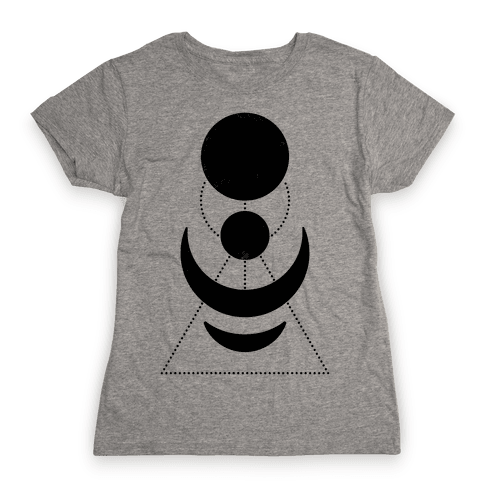 Celestial Shapes Womens T-Shirt