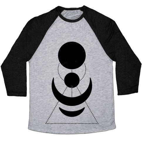 Celestial Shapes Baseball Tee