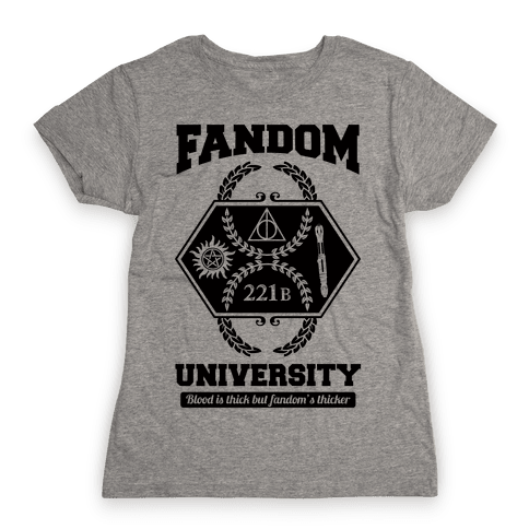 Fandom University Womens T-Shirt
