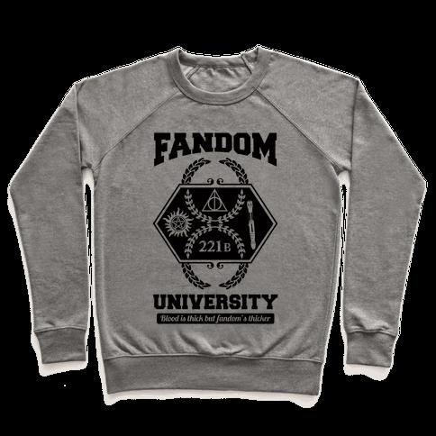 Fandom University Pullover