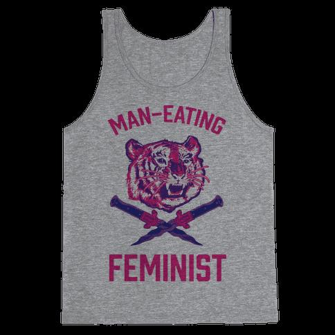 Man-Eating Feminist Tank Top