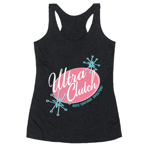 Miss Teenage Hairspray Racerback Tank Top
