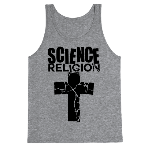 Science Crushes Religion Tank Top