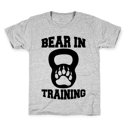 Bear In Training Kids T-Shirt