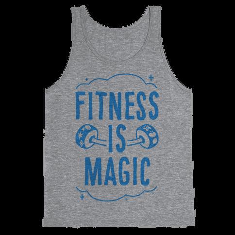 Fitness Is Magic Tank Top