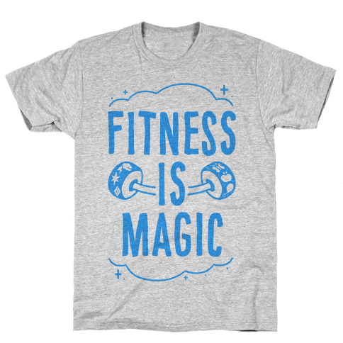 Fitness Is Magic Mens T-Shirt