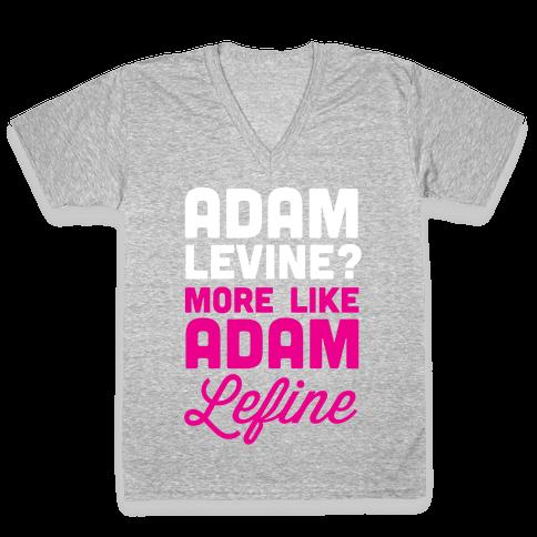 Adam Levine? V-Neck Tee Shirt