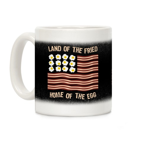 Land Of The Fried Coffee Mug