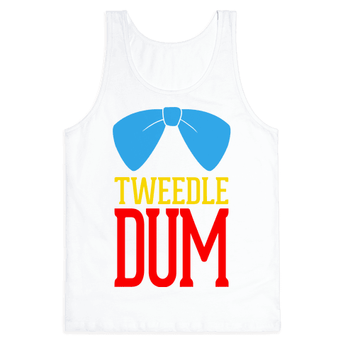 Tweedle Dum Tank Top
