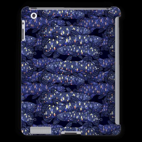 Nautical Coelacanth Fish Pattern