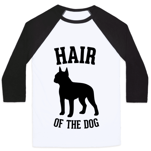 Hair Of The Dog Baseball Tee