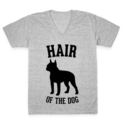 Hair Of The Dog V-Neck Tee Shirt