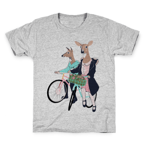 Neighborhood Bike Gang Kids T-Shirt