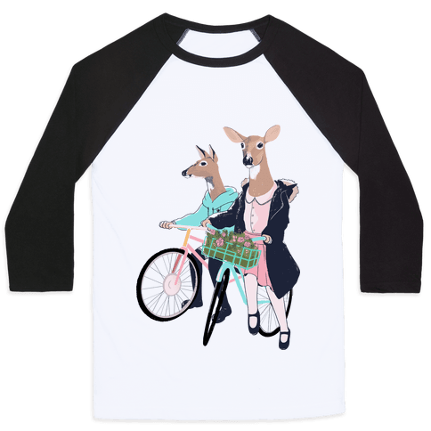 Neighborhood Bike Gang Baseball Tee