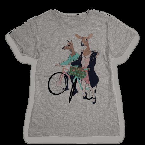 Neighborhood Bike Gang Womens T-Shirt