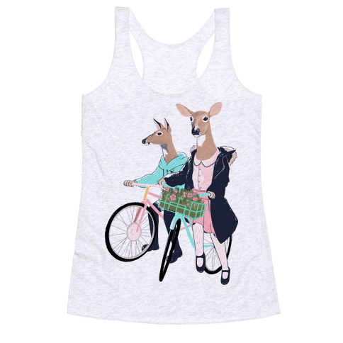 Neighborhood Bike Gang Racerback Tank Top