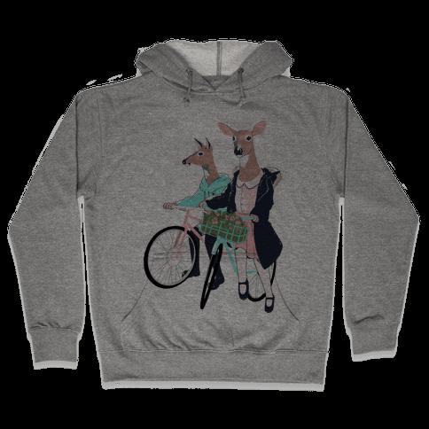 Neighborhood Bike Gang Hooded Sweatshirt