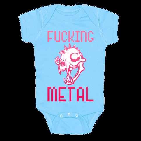 F***ing Metal Baby Onesy