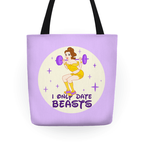 I Only Date Beasts Parody Tote