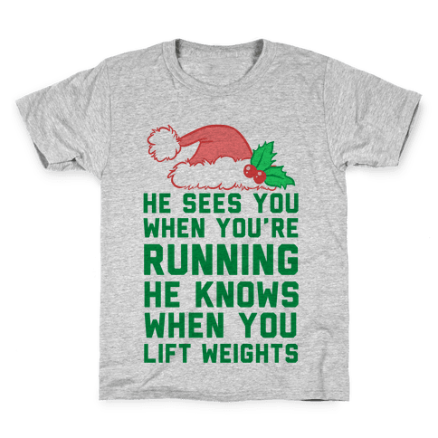 He Sees You Kids T-Shirt