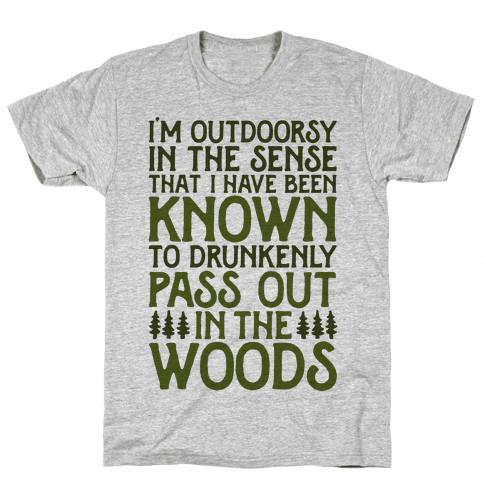 Outdoorsy Mens T-Shirt